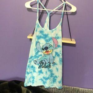 Disney's stitch tank top!